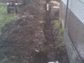 Hvozdec odvodnění zahrady 001