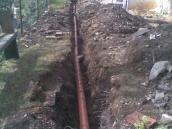 Hvozdec odvodnění zahrady 003