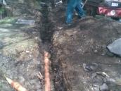 Hvozdec odvodnění zahrady 005