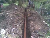 Hvozdec odvodnění zahrady 006