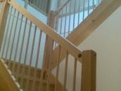 Hvozdec výroba schodiště dub003