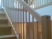 Hvozdec výroba schodiště dub004