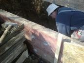 Počaply betonování panelu001