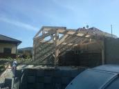 Počaply stavba pergoly 002