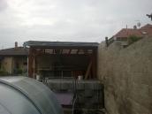 Počaply stavba pergoly 011