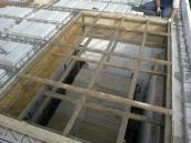 Podluhy betonování stropu001