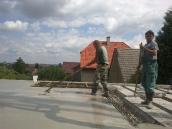 Podluhy betonování stropu011