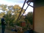 Podluhy betonování stropu028