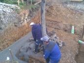 Podluhy betonování stropu029