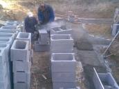 Podluhy betonování stropu031