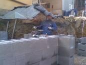 Podluhy betonování stropu032